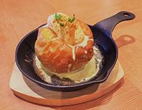 本日のお菓子:丸ごと焼きリンゴ