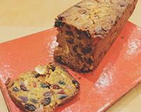 本日のお菓子:クリスマス週限定 熟成ブランデーケーキ